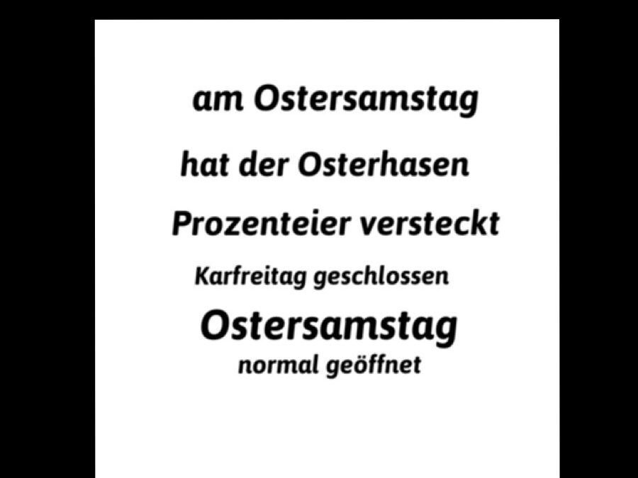 Osterhase by StoffArt